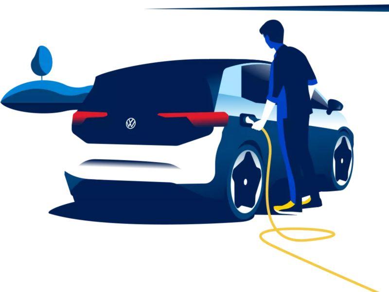 Cargar auto eléctrico en casa
