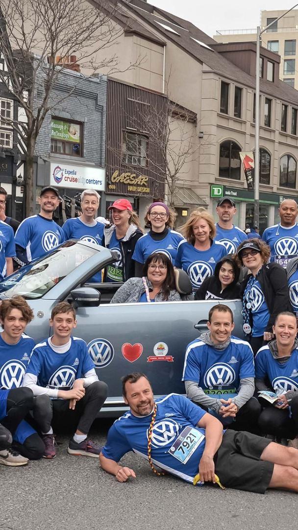 L'équipe Volkswagen appuie le Camp Ooch
