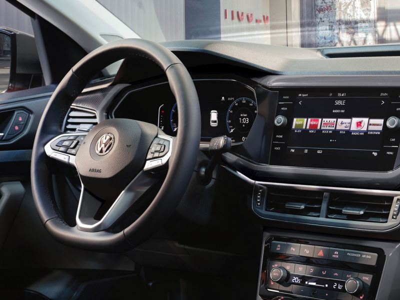 8-inch touchscreen control