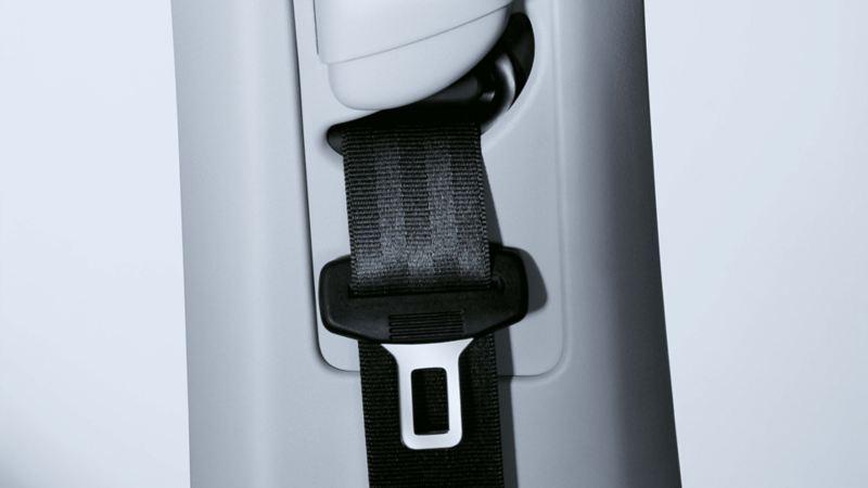 Immagine della cintura di sicurezza su una Volkswagen Golf