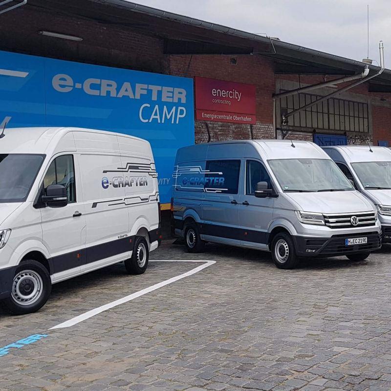 Cobouw - Nieuwe Volkswagen e-Crafter rijdt stil en vooral heel strak.