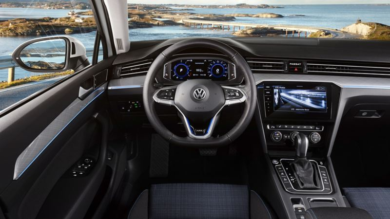 Digital cockpit in the new Passat