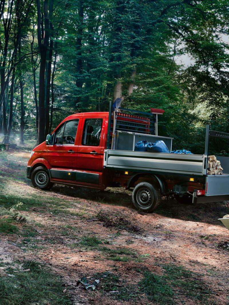 Crafter Pick-up achterzijde