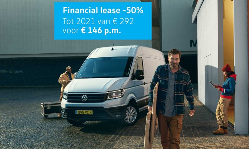 Crafter financial lease 50%korting tot 2021