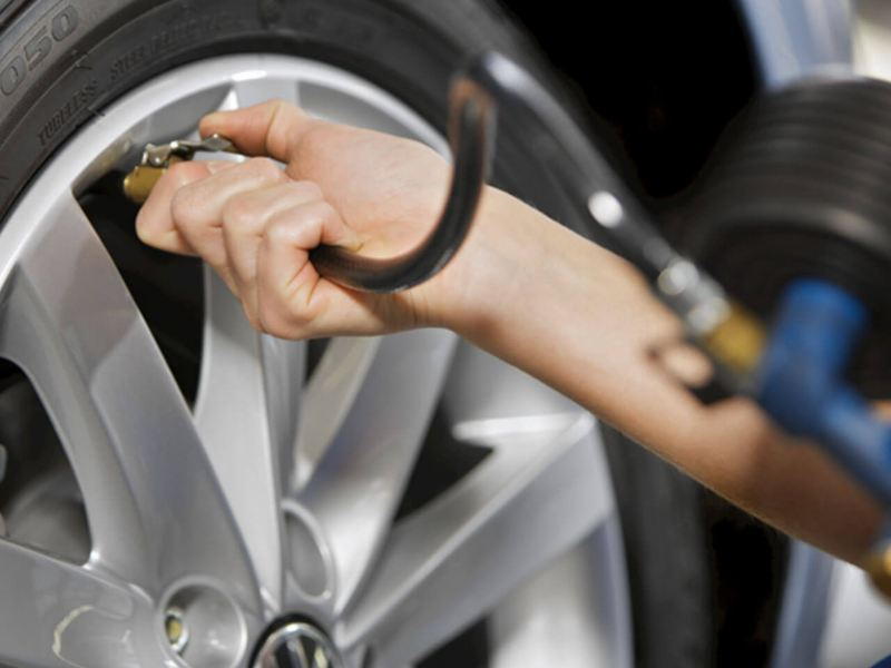 Volkswagen Customer Safety Tips Tyre Pressure