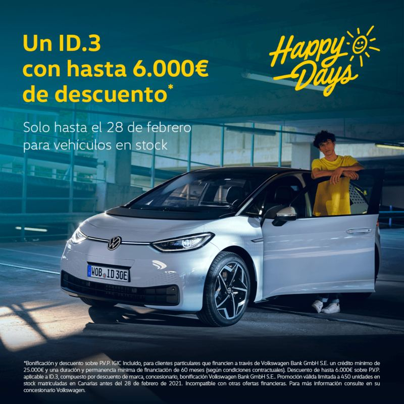 ID.3 Happy days volkswagen canarias