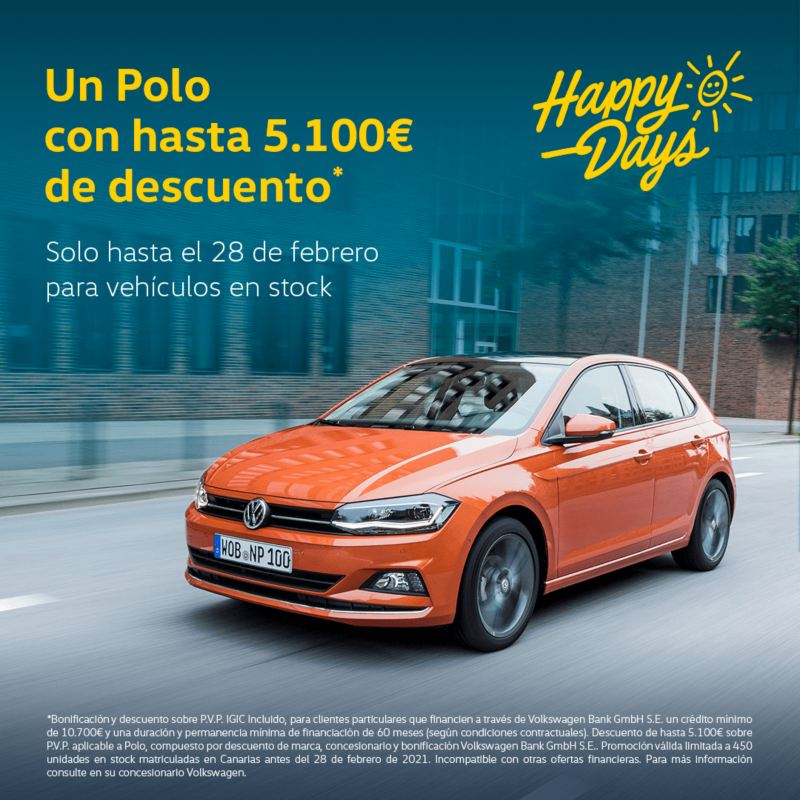 Polo happy days de volkswagen