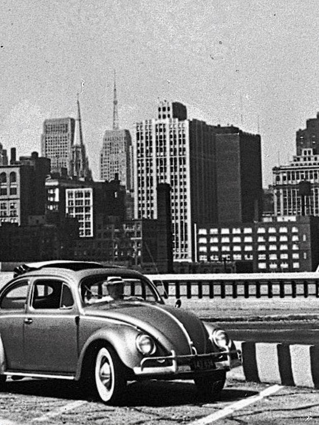 Maggiolino sulle strade di New York
