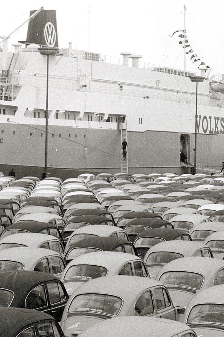 esportazione auto Maggiolino
