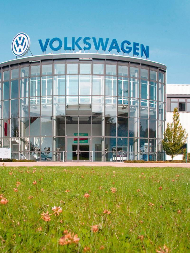 Firmengebäude der Volkswagen Sachsen GmbH