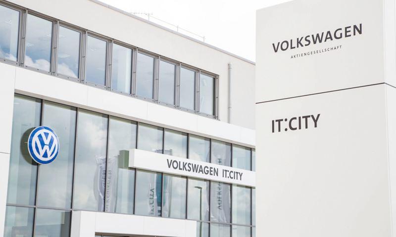 Firmengebäude der Volkswagen IT:City