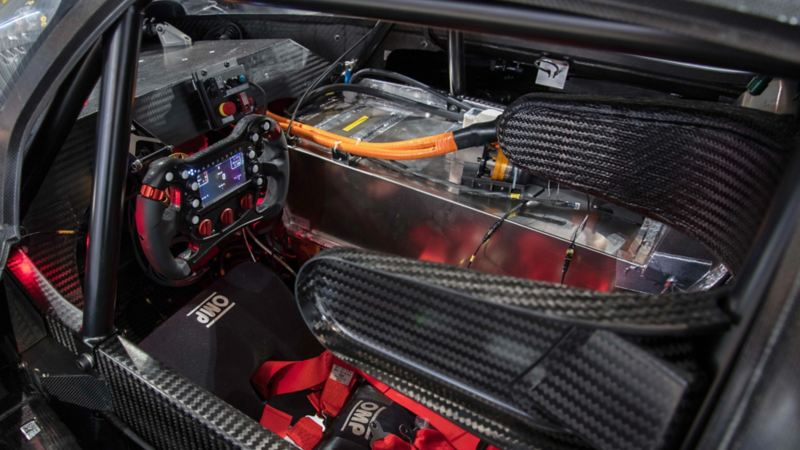 The interior of the ID. R Pikes Peak
