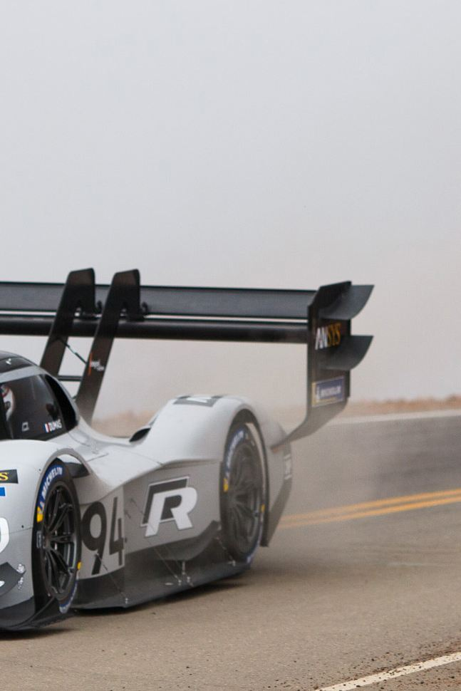 Checkered flag for the ID. R Pikes Peak