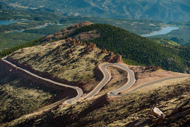 The Rocky Mountains landscape
