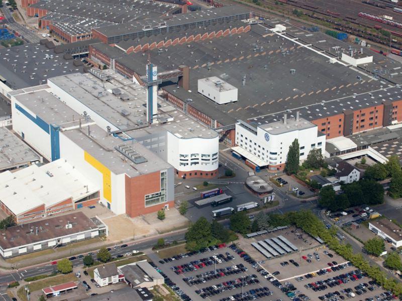 Firmengebäude der Volkswagen Osnabrück GmbH