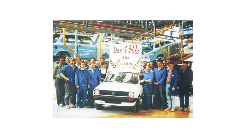 …z taśmy zjechał pierwszy zmontowany w Mosel Volkswagen Polo