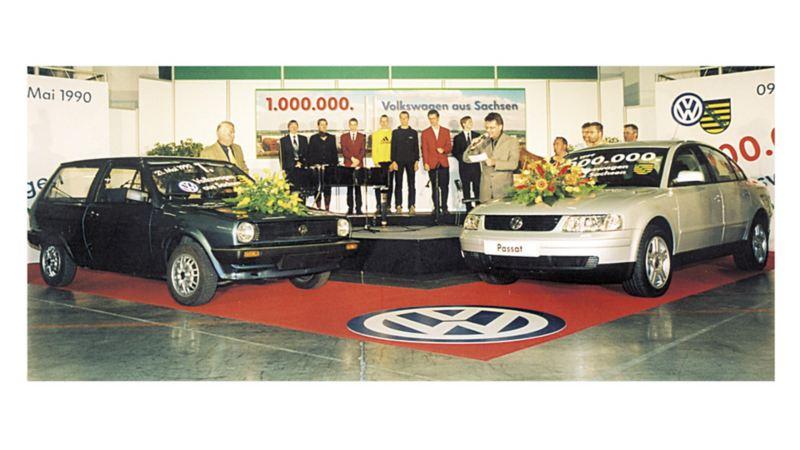 W lipcu 1999 roku obchodzono uroczyście wyprodukowanie w Saksonii milionowego modelu Volkswagena