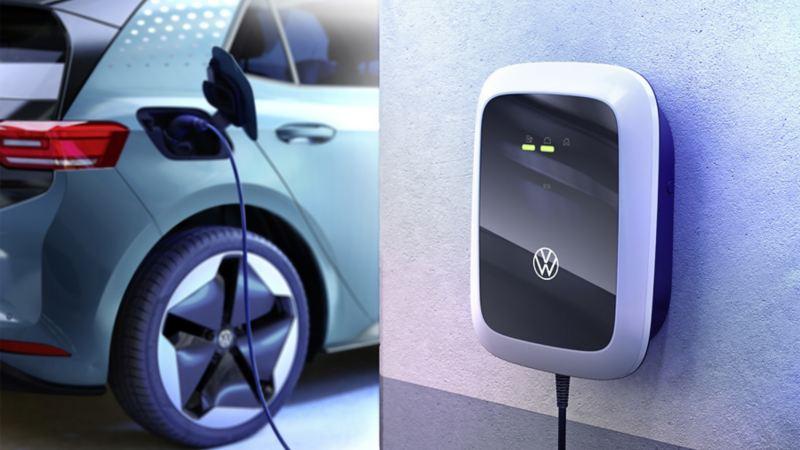 cargar eléctrico coche casa