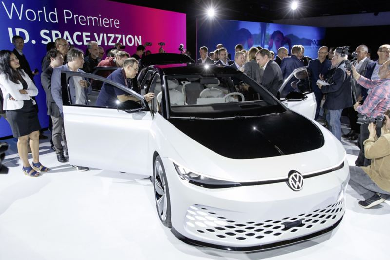 Volkswagena ID. SPACE VIZZION