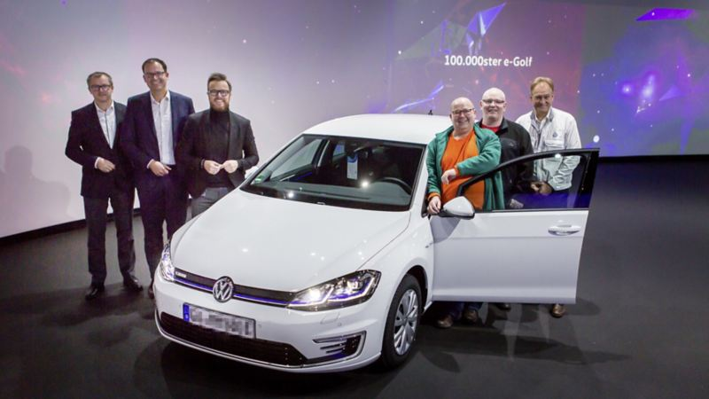 100.000 e-Golf Volkswagen