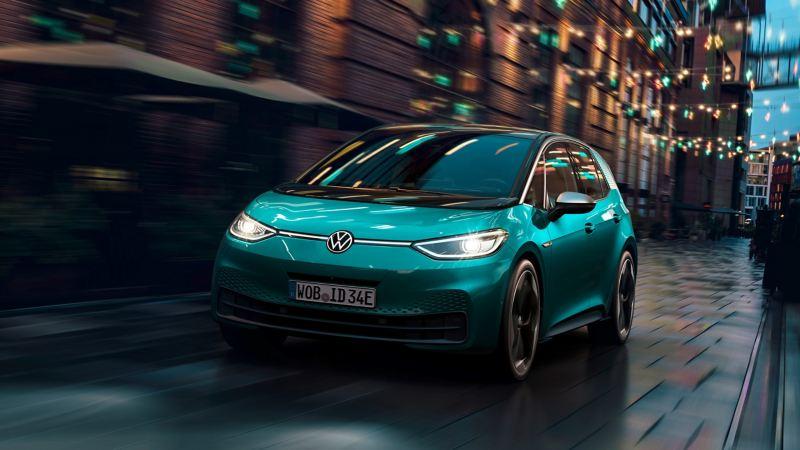 Volkswagen Elektroauto ID.3 kommuniziert per Licht