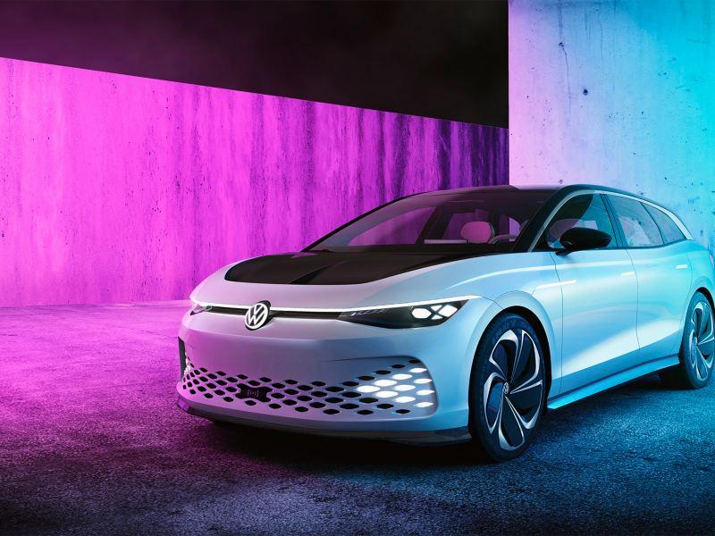 VW Volkswagen ID. SPACE VIZZION familiebil og stasjonsvogn