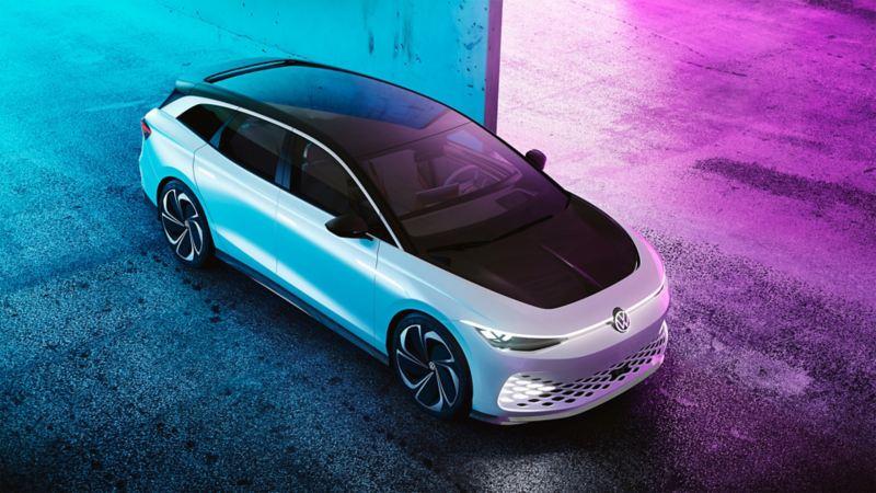 L'extérieur du concept-car Volkswagen ID. Space Vizzion