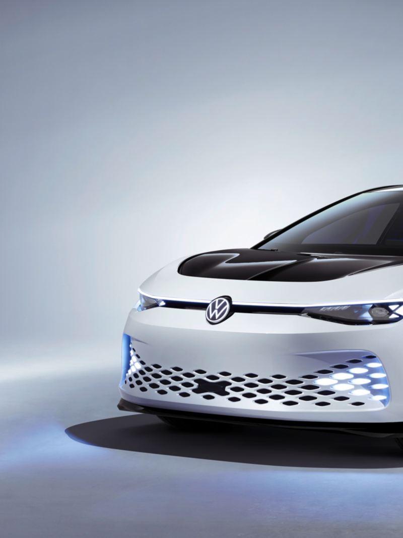 Volkswagen ID. SPACE VIZZION elbil konsept sett forfra