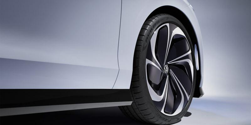 Le côté du concept-car Volkswagen ID. SPACE VIZZION