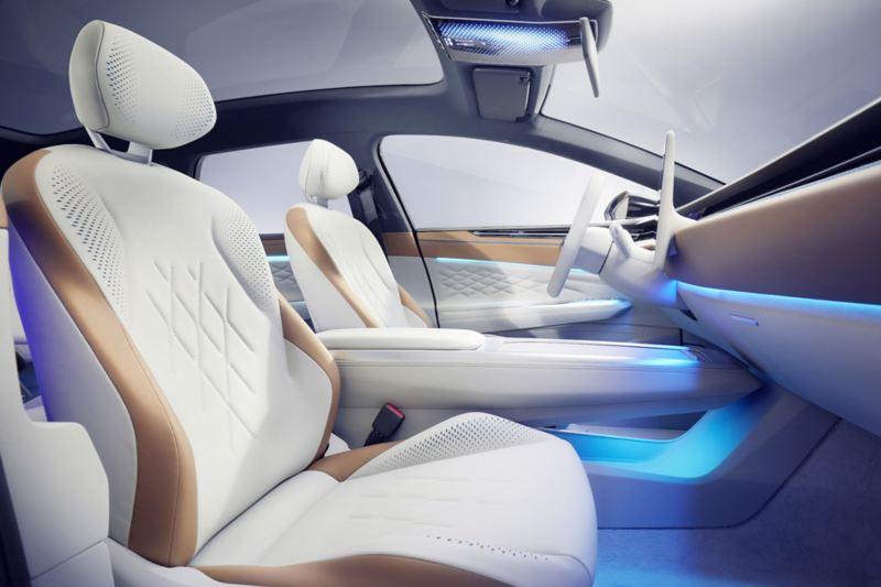 Fotele modelu ID.SPACE VIZZION