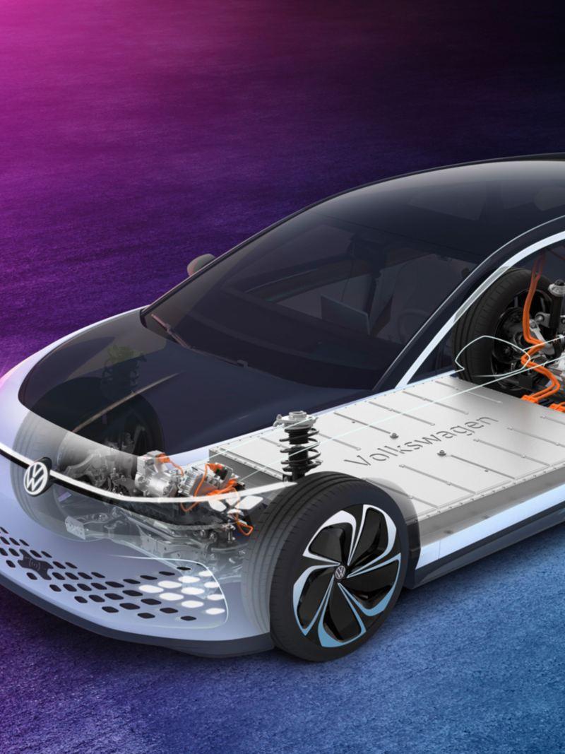 Volkswagen ID. SPACE VIZZION og MEB-plattformen