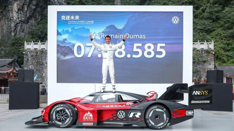 ID.R setzt Rekord am Berg Tianmen