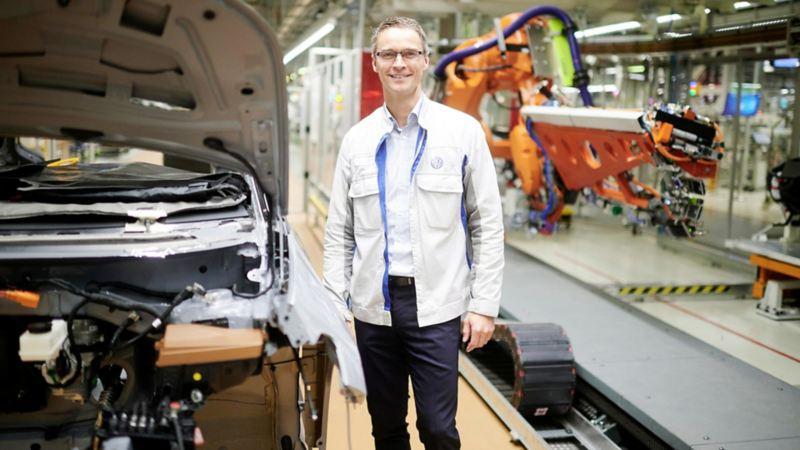 Lars Thielemann, szef działu planowania w fabryce w Zwickau