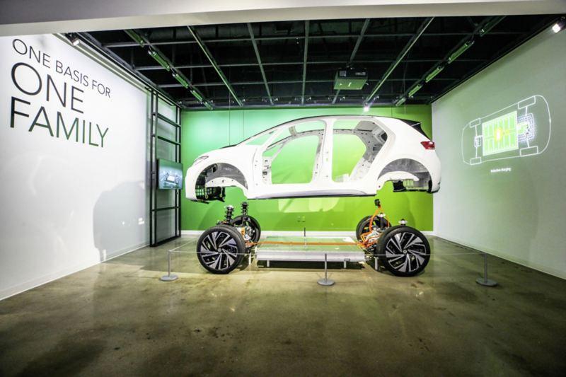 """""""Zaślubiny"""" nadwozia Volkswagena ID.3 z platformą MEB"""