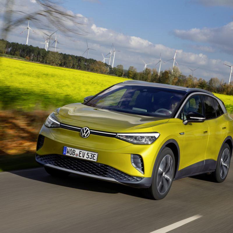 Komfortowe i sportowe jednocześnie – zawieszenie nowego Volkswagena ID.4