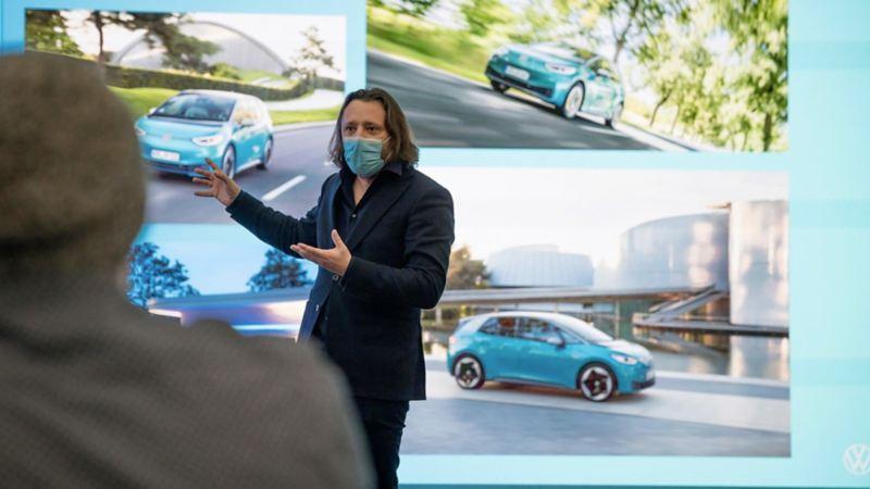 Jozef Kaban, szef działu Volkswagen Design