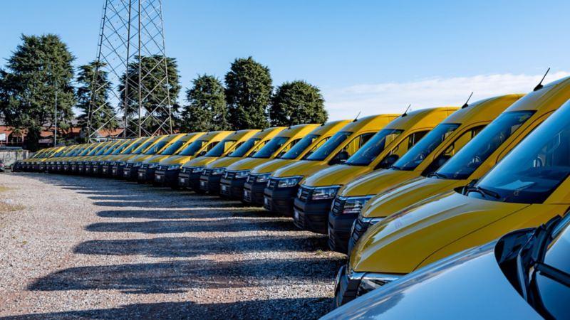 Volkswagen Veicoli Commerciali consegna 39 Crafter allestiti per DHL