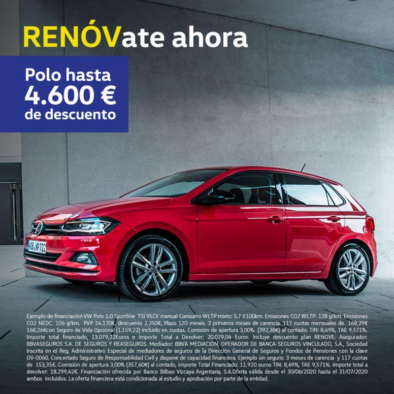 VW Polo descuento plan renove