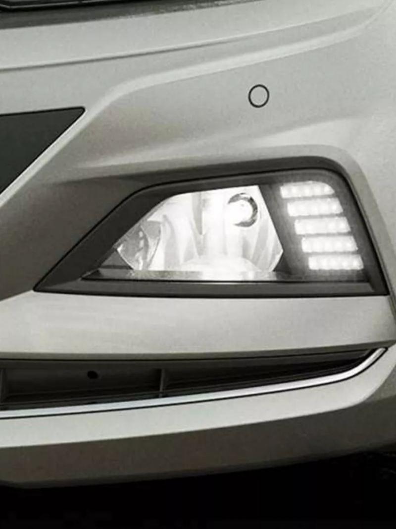 luz de condução diurna
