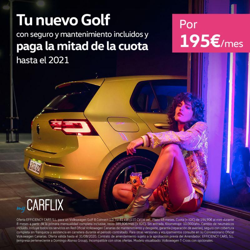 myCarflix renting Volkswagen Golf