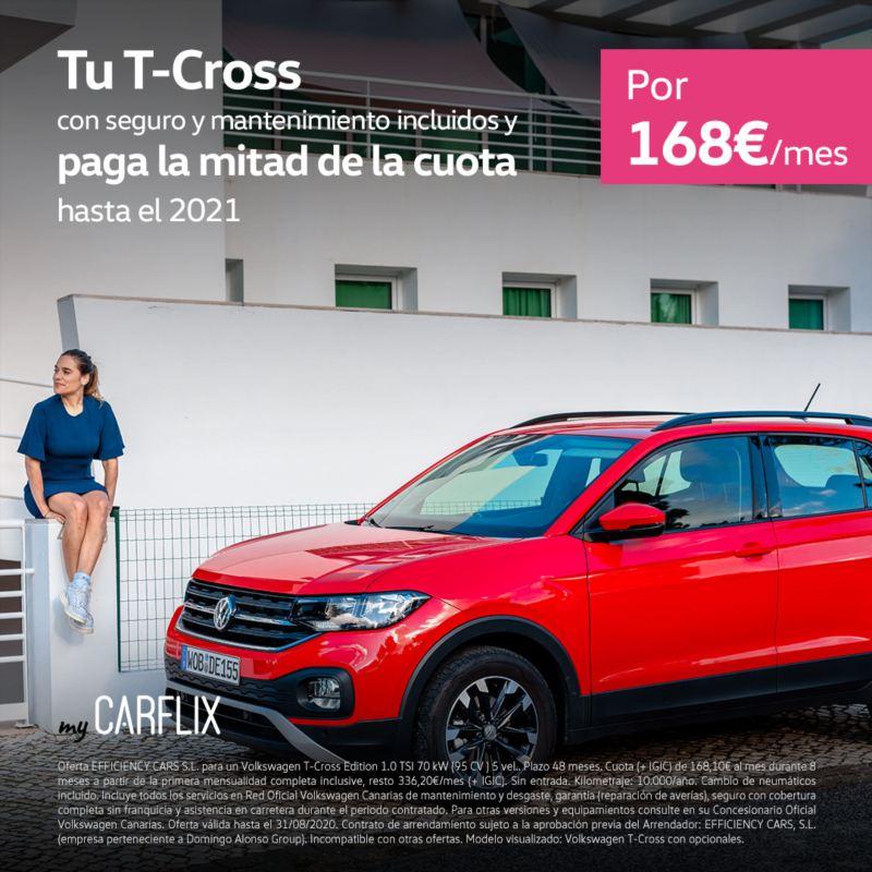 myCarflix renting Volkswagen T-Cross