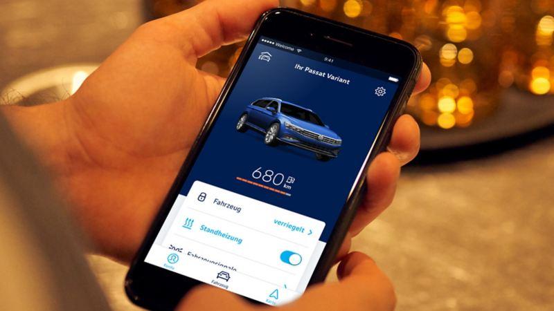 We Connect - Climatizar o carro através do smartphone antes de arrancar