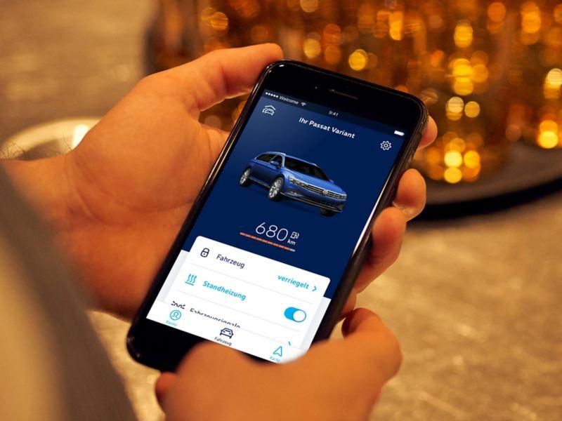 Volkswagen We Connect App