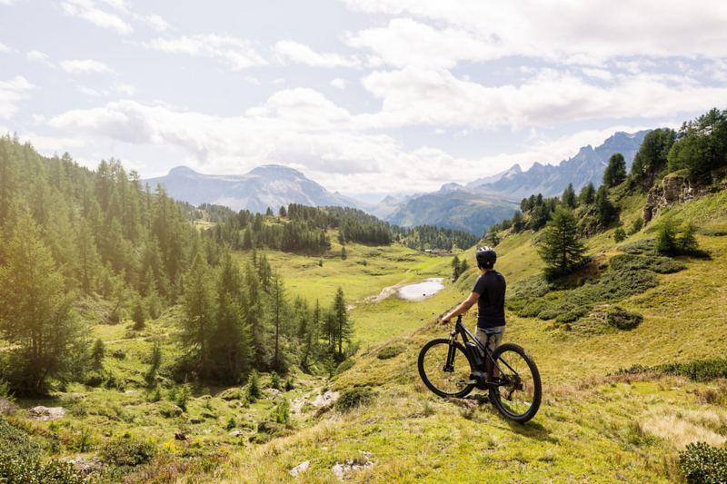 Mit dem E-Bike in den Alpen