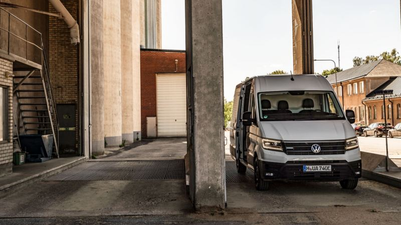 Nya VW el-Crafter
