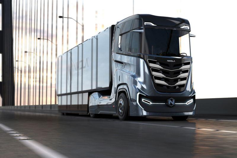 Truck elettrico Nikola Tre