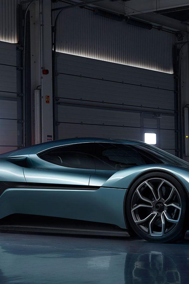 Den elektriske sports elbilen NIO EP9