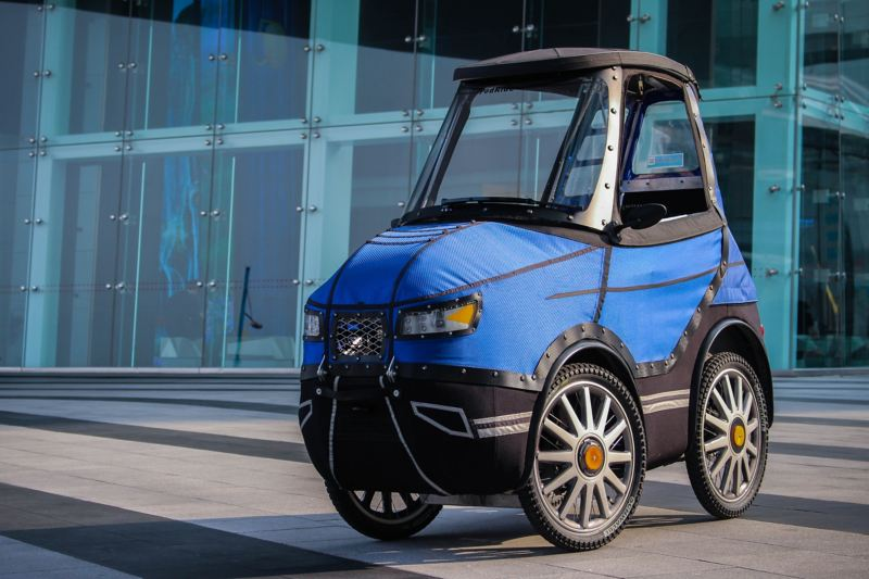 "The ""PodRide"": half electric vehicle, half e-bike"