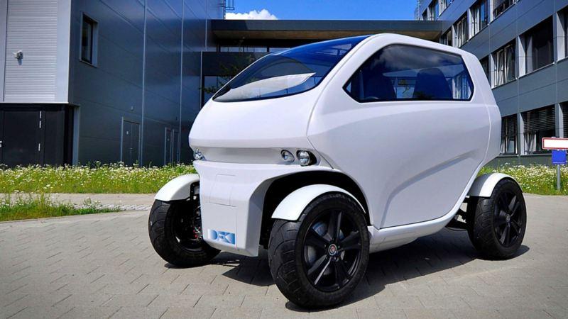"Elbilen for megabyer – EO smart connecting car"""