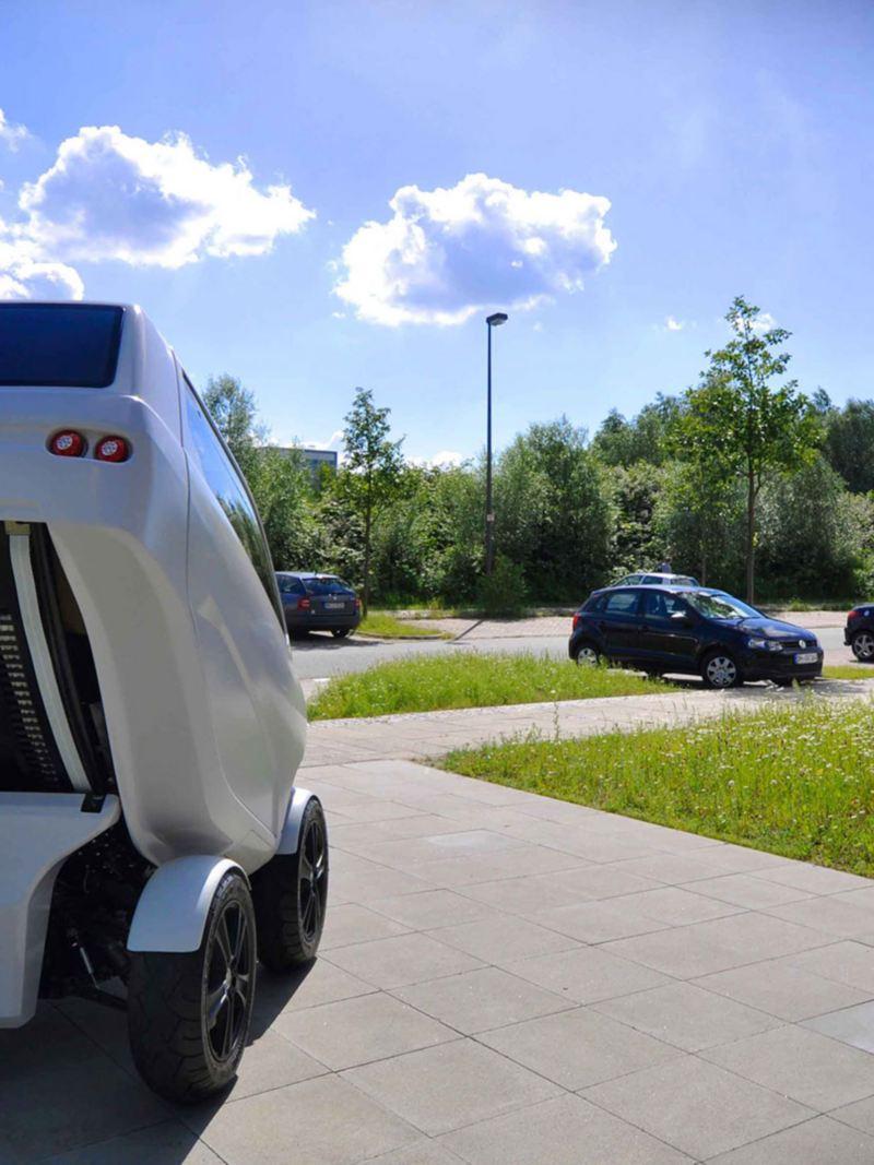 Den sammenleggbare elbilen fra DFKI